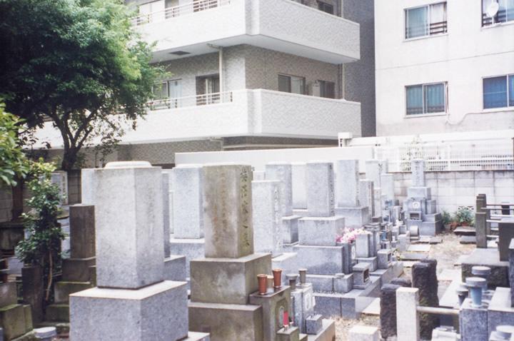 墓地改葬前