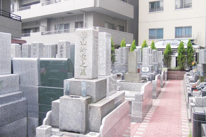 墓地改葬後