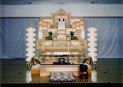 <雅/みやび>高級格子4段飾り祭壇