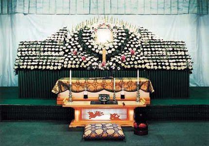 <月/つき>高級オリジナルフラワー祭壇